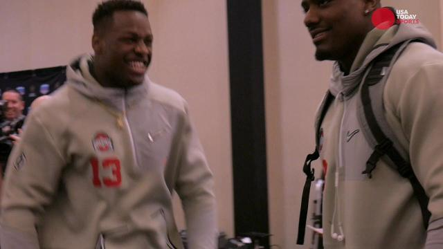 Clemson and Ohio State show off dance moves at Fiesta Bowl media day