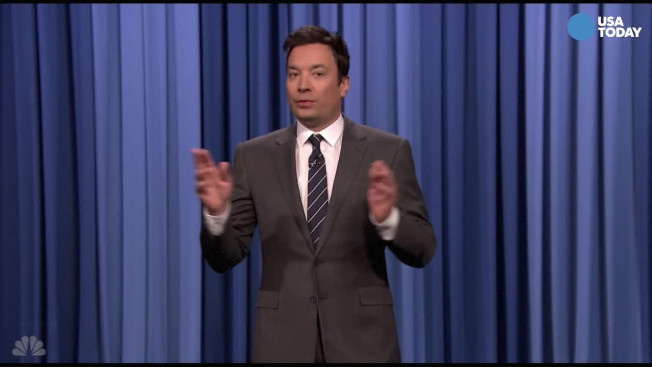 Take a look at what the late-night comics have to say on the latest from Trump. After you watch our favorite jokes, vote for yours at opinion.usatoday.com.
