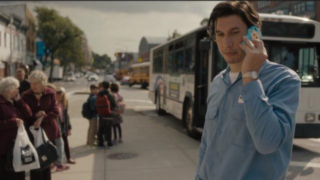 Adam Driver plays a bus driver in Paterson, N.J., who is also a poet. The film follows him on his daily route as he soaks in the the sights and sounds of the community he serves.