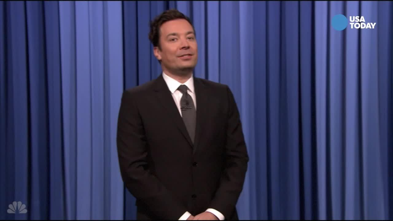 The late-night comics talk about fake news on social media, political tweets and no-check-out grocery stores. Take a look at our favorite jokes, then vote for yours at opinion.usatoday.com.