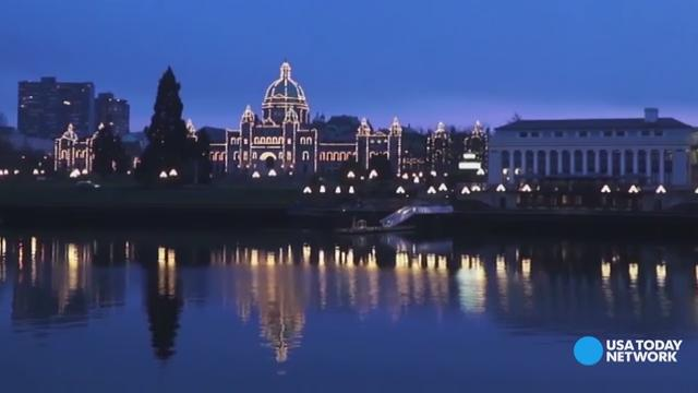 Feel like royalty in Victoria, Canada