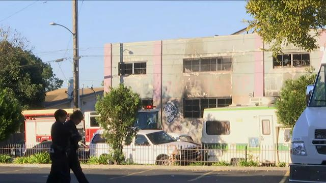Authorities in the San Francisco Bay Area say they are prepared to deal with up to 40 deaths after a fire broke out at a warehouse party in Oakland, California. (Dec. 3)