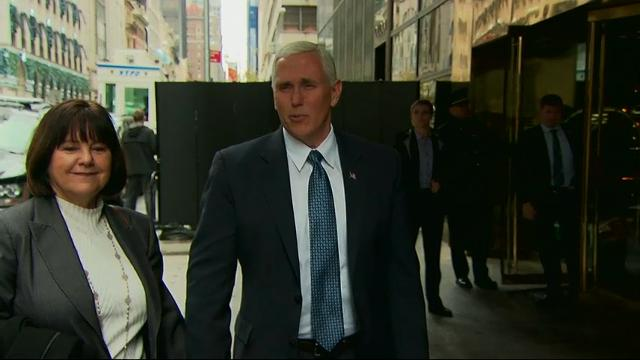 Pence: Trump Moving Quickly on Cabinet Picks
