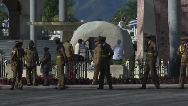 Raw: Fidel Castro's ashes interred in Santiago