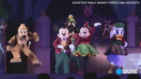 Disney World takes holiday magic to a new level