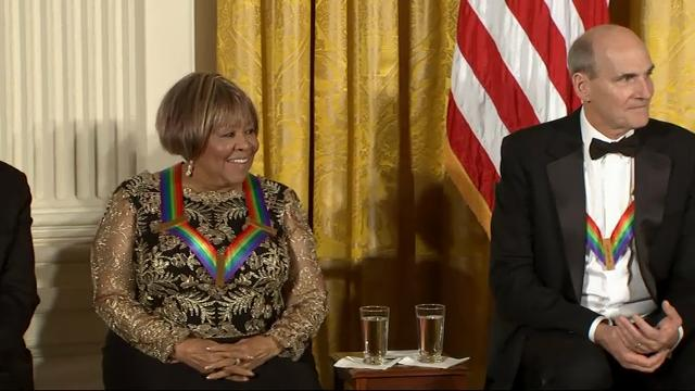 Artists celebrated at Obama's final Kennedy Centre Honors gala