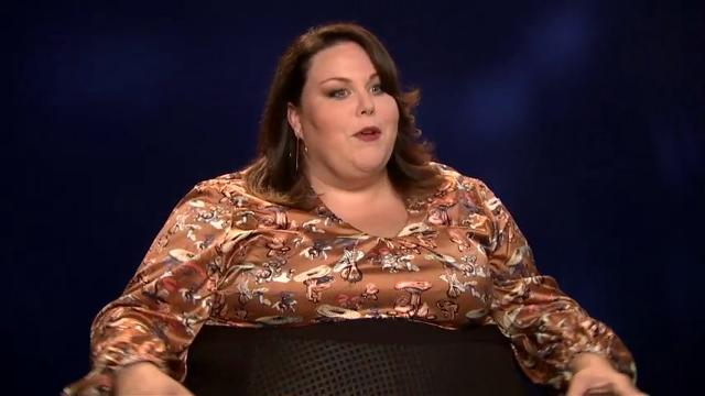 Chrissy Metz, star of NBC's 'This Is Us,' says being a plus-sized actress has been a struggle but also an education. (Dec. 7)
