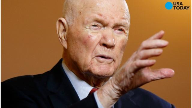 John Glenn, the first American to orbit the Earth has been hospitalized in his home state of Ohio. Glenn will always be known for his 1962 trip in a Friendship space capsule that circled Earth. He returned to space on the shuttle Discovery, becoming the oldest person to make such a voyage at the age of 77.