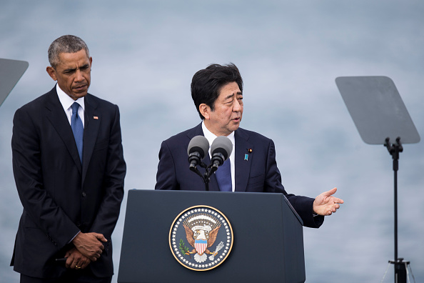 Japan's PM Abe in Hawaii to visit Pearl Harbour with Obama