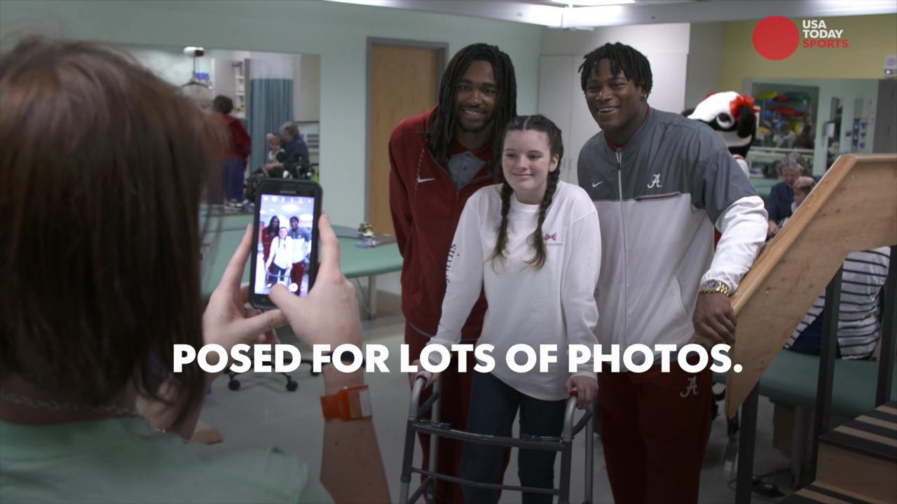 Alabama and Washington bring smiles to children's hospitals