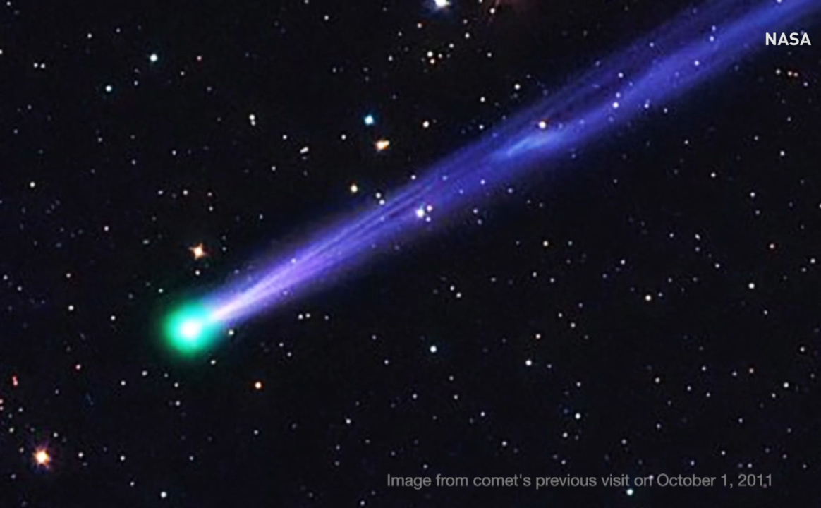 Look to the sky for New Year's Eve comet