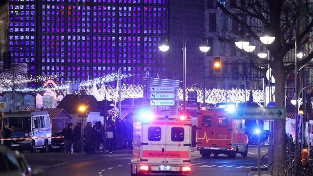 Nine dead after truck crashes into Berlin Christmas market