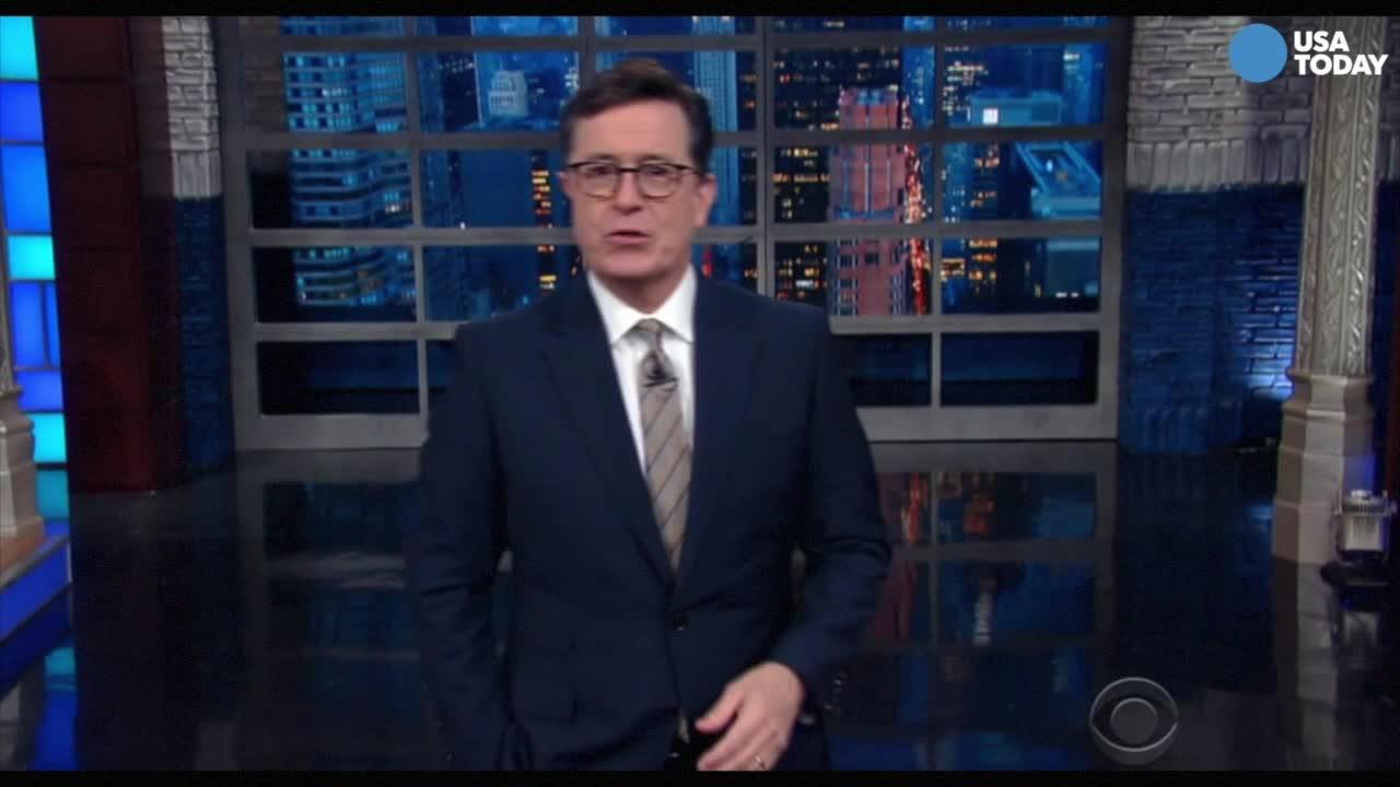 The late-night comics on Trump's interest in television but apparent lack of interest in the presidency. Take a look at our favorite jokes, then vote for yours at opinion.usatoday.com.
