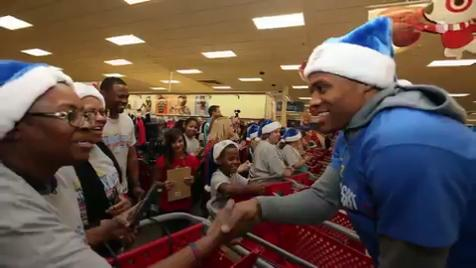 NBA stars including Karl-Anthony Towns and Russell Westbrook have been busy this holiday season, spreading joy to those in need.