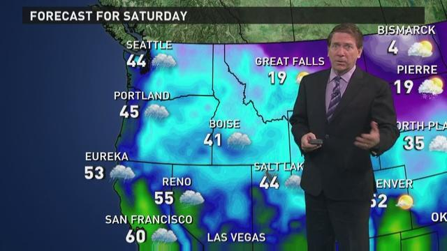 Saturday's forecast: More rain along West Coast