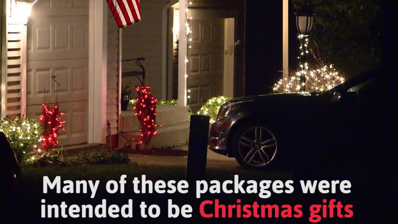 Police restore the holiday spirit after thieves steal packages