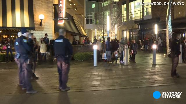 Ohio mall evacuated after melee