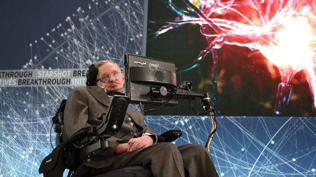 Stephen Hawking says only cooperation can save the planet