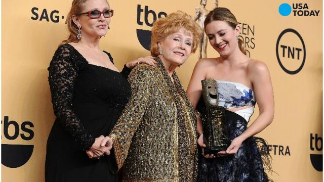 After the death of her grandmother Debbie Reynolds and mother Carrie Fisher, the 24-year-old budding actress is in line to continue their legacy.