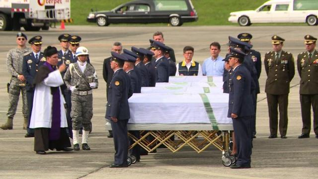 The bodies of the 71 victims killed in a plane crash in Colombia that wiped out a Brazilian football team began arriving home, as mourners prepared a massive funeral.