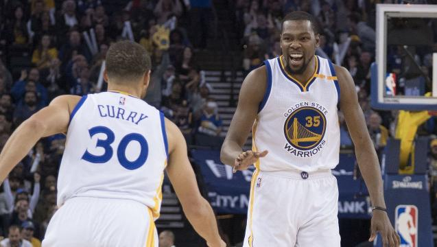 Warriors demolish Cavaliers in latest chapter of rivalry