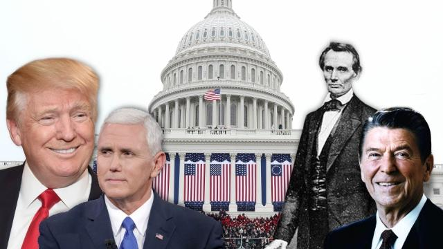 Trump, Pence to take oaths on bibles used by Lincoln, Reagan