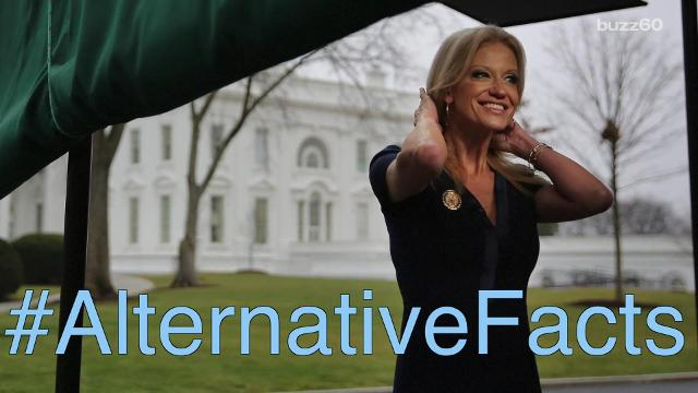 Check out some of the best celebrity social media posts about #AlternativeFacts. Emily Drooby (@emilydrooby) has the story.