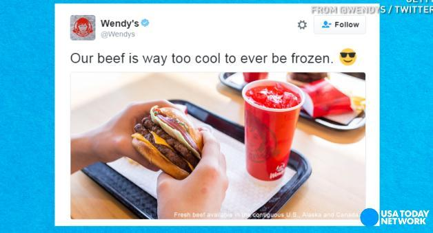 Wendy's Twitter account is full of frosty comebacks