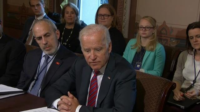 Biden Eyes Electronic Records in Cancer Fight