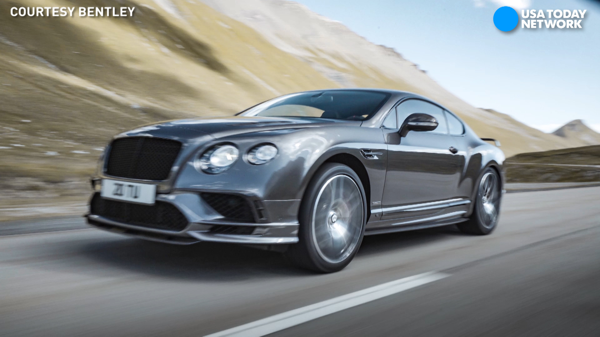 Bentley reveals its 209-mph, 'most powerful' car ever