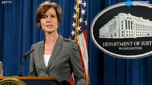 Trump fires acting AG after defiance on immigration order