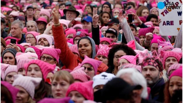 Thousands of participants converge on the Women's March