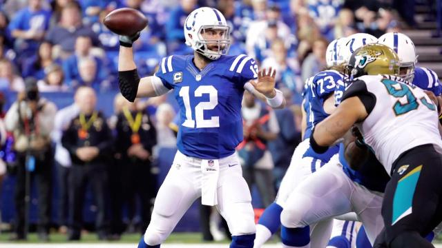 Indianapolis Colts quarterback Andrew Luck is recovering from successful outpatient surgery to repair a right shoulder injury, Colts owner Jim Irsay said.