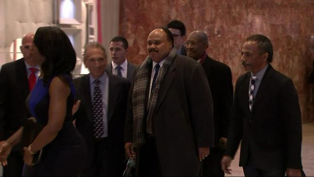 MLK III Meets With Donald Trump in New York