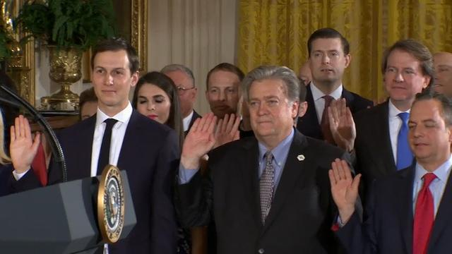 Trump to Staff: We'll Do Great Things in 8 Yrs