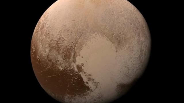 NASA released video of the view from the New Horizons spacecraft as it approached Pluto. The video is made up of more than 100 high resolution images, taken over six months as the spacecraft approached the dwarf planet, flying by in July, 2015. (Jan. 24)