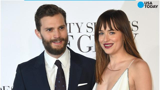 Dakota Johnson has opened up about her role in 'Fifty Shades' and what it was like to get naked in front of costar Jamie Dornan.