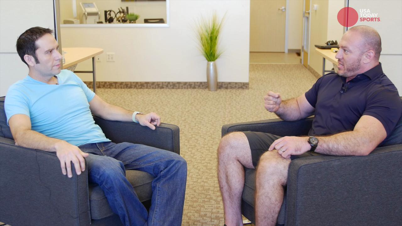 USA TODAY Sports' A.J. Perez visits with MMA trainer and nutritionist Mike Dolce to learn why MMA fighters cut weight.