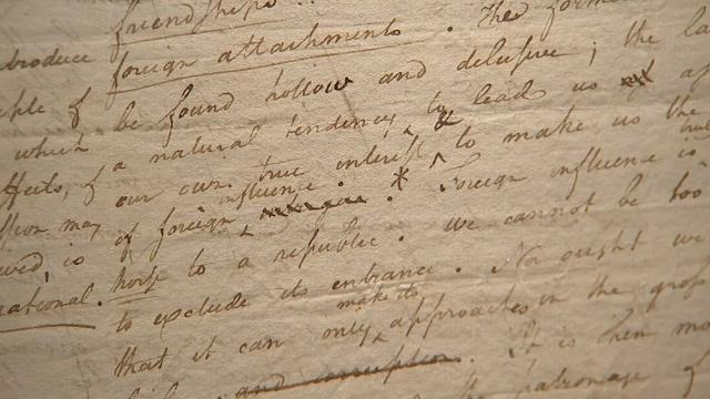 Alexander Hamilton's Letters To Be Sold In NYC