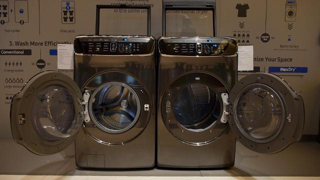 Hands On With Samsung S Radical New Laundry Pair