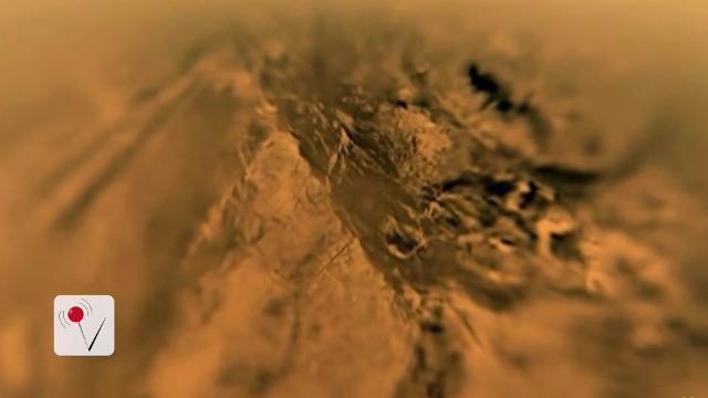 NASA shares video of landing on Saturn's moon