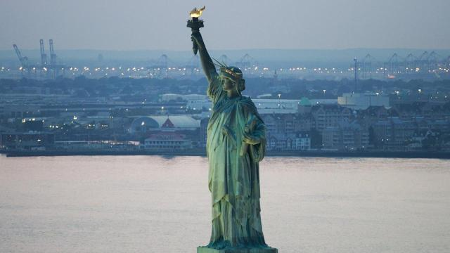 'Give me your tired, your poor': Statue of Liberty's immigration poem
