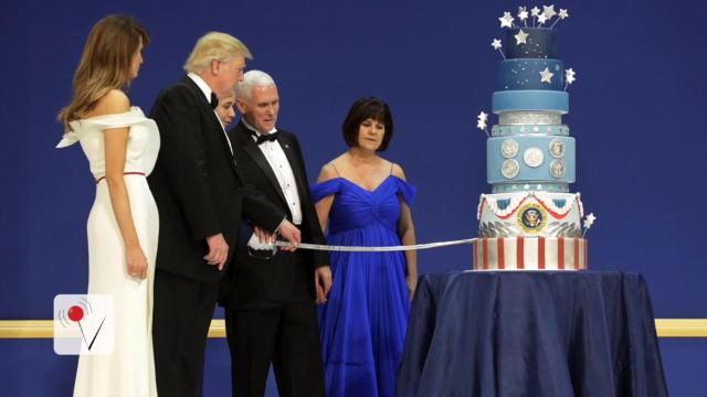 The new First Family is facing a potential plagiarism scandal in regard to their inauguration cake. Jose Sepulveda (@josesepulveda87) has more.