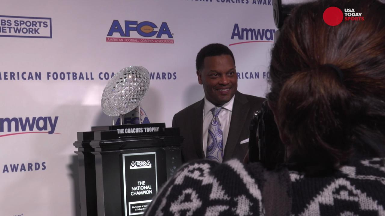 Go behind the scenes of the first ever televised presentation of the American Football Coaches Association Awards Show.