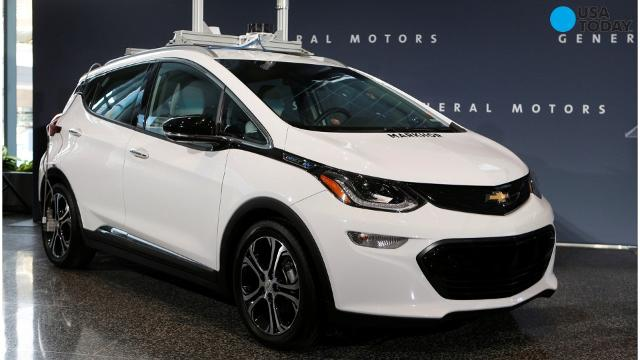 GM's Chevrolet Bolt electric car wins North American Car of the Year