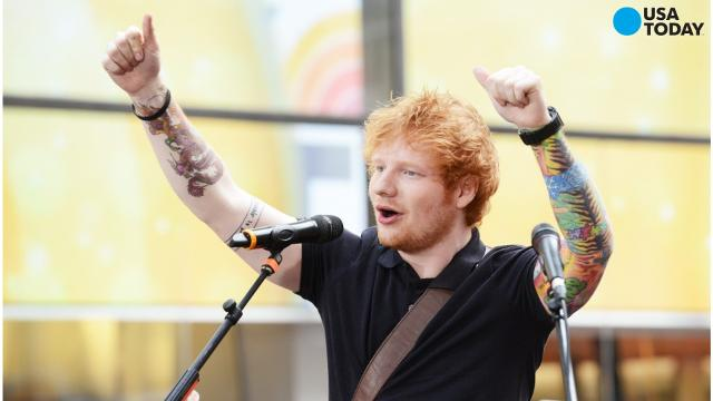 Ed Sheeran released two new tracks - 'Shape of You' and 'Castle on the Hill' and both songs broke the streaming music service's record for single-day streams, with 13 million streams from the two songs.