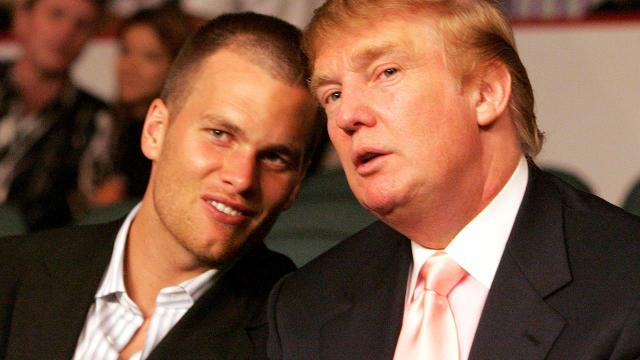 New England Patriots quarterback Tom Brady discussed his relationship with President Donald Trump on WEEI's Kirk and Callahan show.