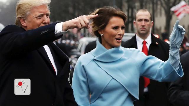 The difference between President Trump's inaugural crowd and former President Obama's 2009 Inaugural crowd is startling. Veuer's Nick Cardona shows us a side by side look at the people witnesses history.