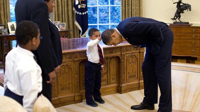 The story behind one of Obama's most touching moments as president