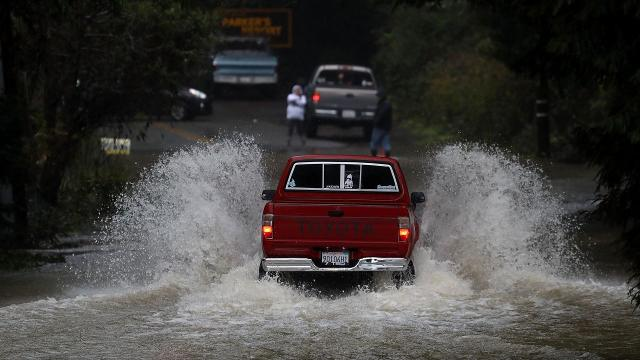 Wet winter brings parts of California out of 5 year drought